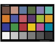 ColorChecker 测试卡